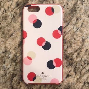 Kate Spade iPhone 6/6s Polk a Dot Case